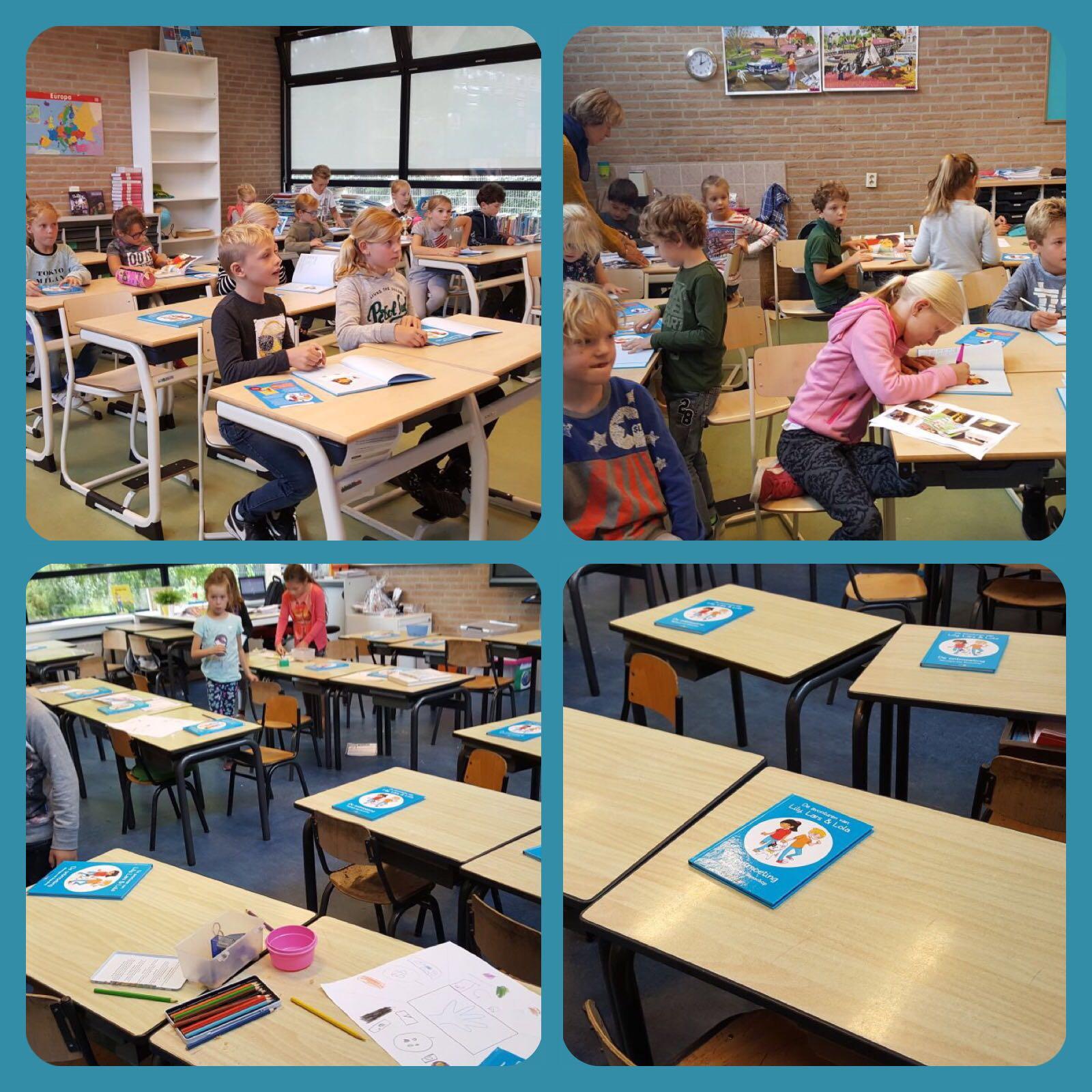 Verrassingsbezoek Jozefschool Nederhorst den Berg