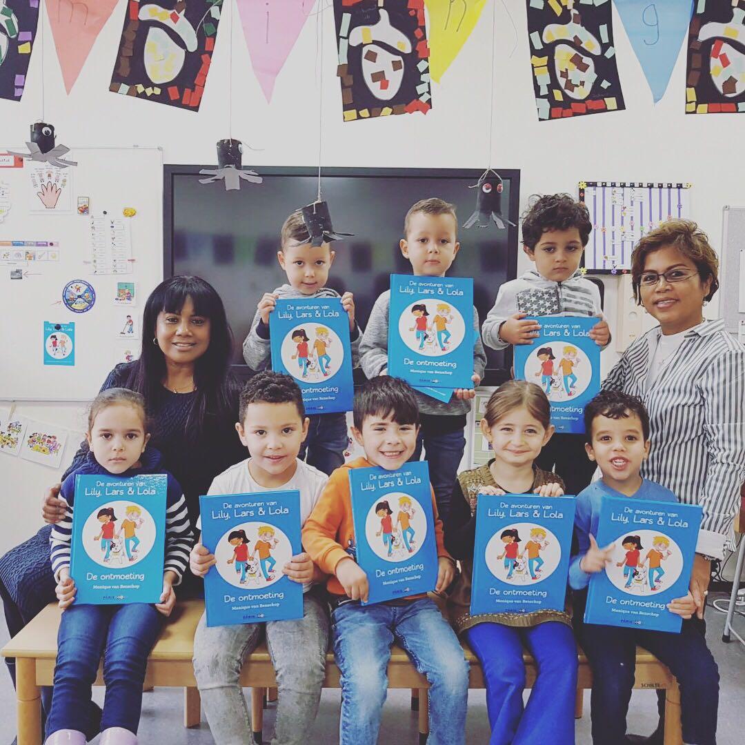 Weer een school blij: Al Amana in Ede
