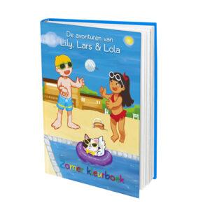 Lily, Lars & Lola Zomer kleurboek
